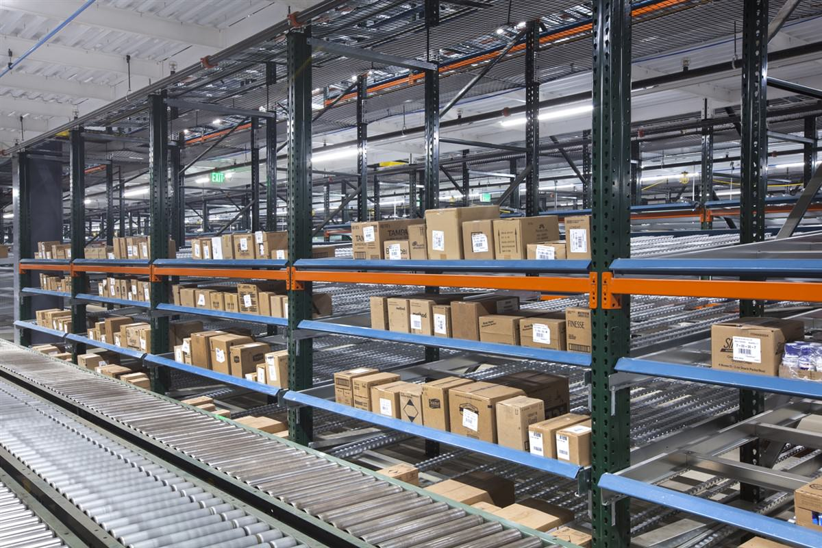 Pick Module Storage Rack System Expedites Order Fulfillment, Saves Costs