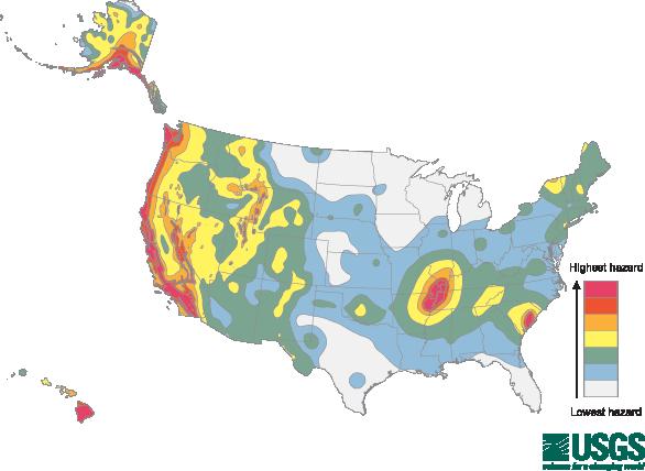 Seismic Zones and Risk - Ridg-U-Rak on 1999 chamoli earthquake, seattle seismic map, yellowstone super volcano kill zone map, seismic map of america, seismic map of texas, seismic structure map, yellowstone seismic map, seismic map of the us, safety zone map, new madrid seismic zone, 2011 sikkim earthquake, ibc zip code map, gsa seismic map, 1934 bihar earthquake, canadian seismic map, seismic category map, anchorage seismic map, 2001 gujarat earthquake, mexico seismic map, seismic class map, canada seismic map, environmental zone map, yellowstone volcano blast zone map, ibc seismic map, seismic camp map,