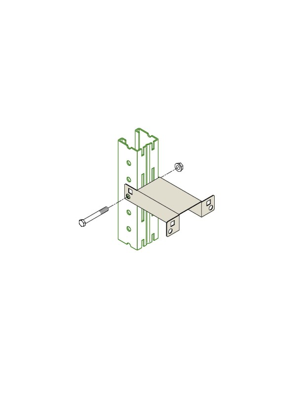 Pallet Rack Row-Wall Spacer