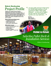 Roberts Warehousing Project Profile