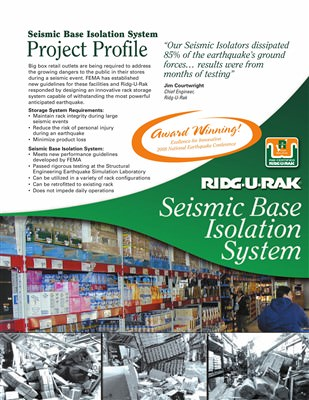 Seismic Base Isolation System Project Profile